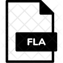 Fla Format Document Icon