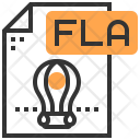 Fla Type File Icon