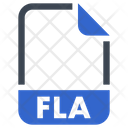 Fla Document File Icon