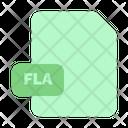 File Fla Document Icon