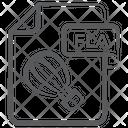 Fla File Document File Icon
