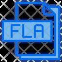 Fla File Format Type Icon