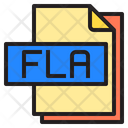 Fla File Format Type Icon