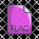 Flac Audio File Icon