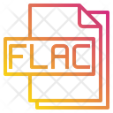 Flac File Format Type Icon