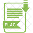 Flac File Format Icon