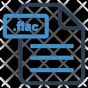 Flac File Sheet Icon