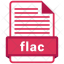 Flac File Formats Icon