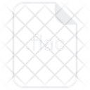 Flac File Document Icon