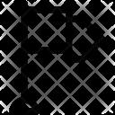 Flag Destination Ensign Icon