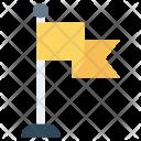 Flag Achievement Goal Icon