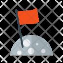 Flag Moon Success Icon