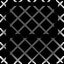 Flag Label Location Icon