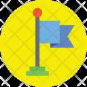 Flag Ensign Fluttering Icon