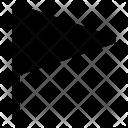 Flag Map Mark Icon