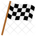 Flag Race Racing Icon