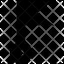 Flag Pointer Location Icon