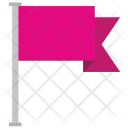 Pink Flag Icon