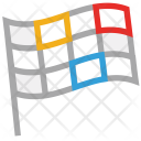 Flag Games Sports Icon