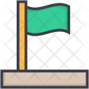 Flag Destination Pole Icon