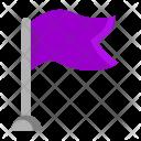 Flag Pointer Navigation Icon