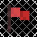 Flag Castle Game Icon