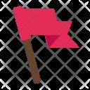 Flag Goal Finish Icon