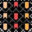 Flag Celebration National Icon