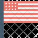 Flag America Win Icon