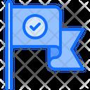 Flag Check Voter Icon