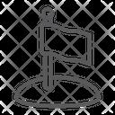 Flag Game Pointer Icon