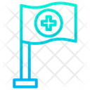 Assistance Flag Flag Medical Icon