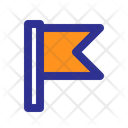 Flag Marker Pin Icon