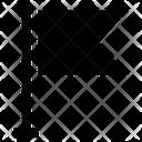 Flag Banner Sports Flag Icon