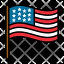 Flag Target Goal Icon