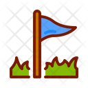 Flag Victory Sign Flag Icon