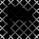 Flag Pennant Camp Icon