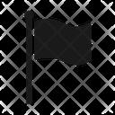 Finish Flag Goal Icon