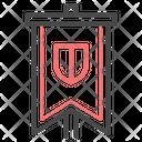 Flag Honor Heraldry Icon