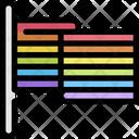 Flag Lgbt Homosexual Icon