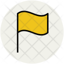 Flag Flagpole Ensign Icon