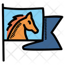 Horse Riding Rodeo Icon