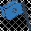 Milestone Flag Goal Icon