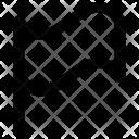 Flag Destination Point Icon