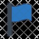 Flag Achievement Waving Icon