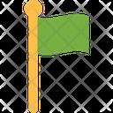 Flag Markerm Flag Flag Post Icon