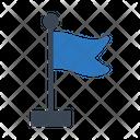 Flag Sign Waving Icon