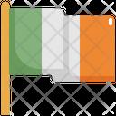 Flag Celebration Ireland Icon