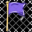 Flag Banner Emblem Icon