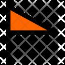 Flag Soccer Football Icon